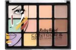 Палитра за контуриране - 12 цвята - RUBY ROSE